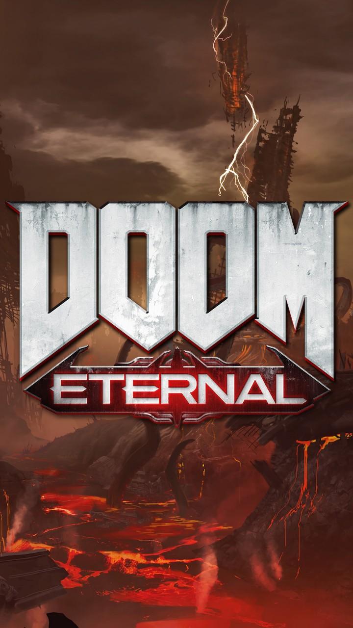 Iphone 5s Wallpaper 3d Doom Eternal 2019 Game 4k Wallpapers Hd Wallpapers Id