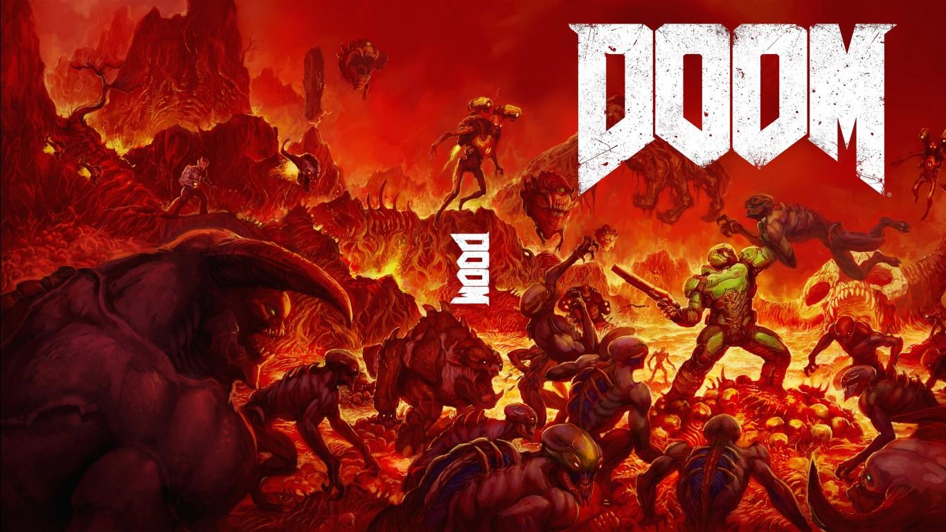 Doom Iphone Wallpaper Doom Game Wallpapers Hd Wallpapers Id 17167