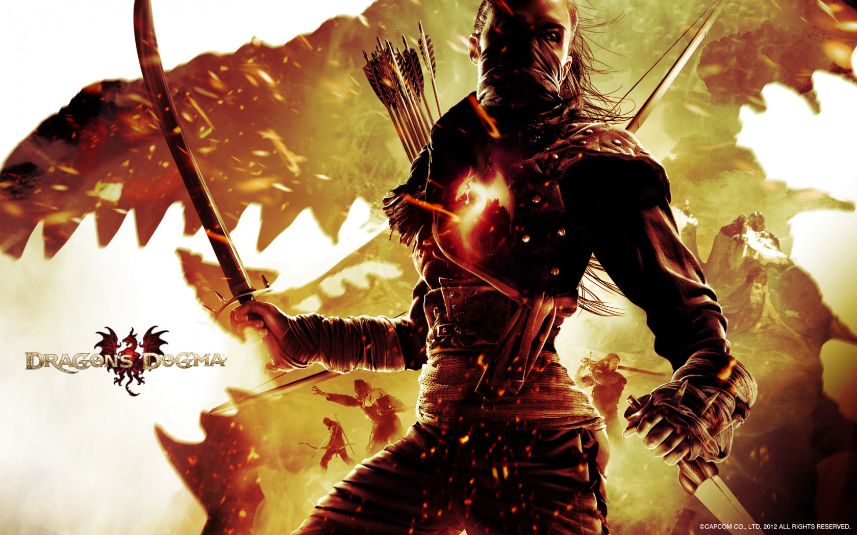 Download Fall Wallpaper For Laptops Dragon S Dogma Game Wallpapers Hd Wallpapers Id 11575