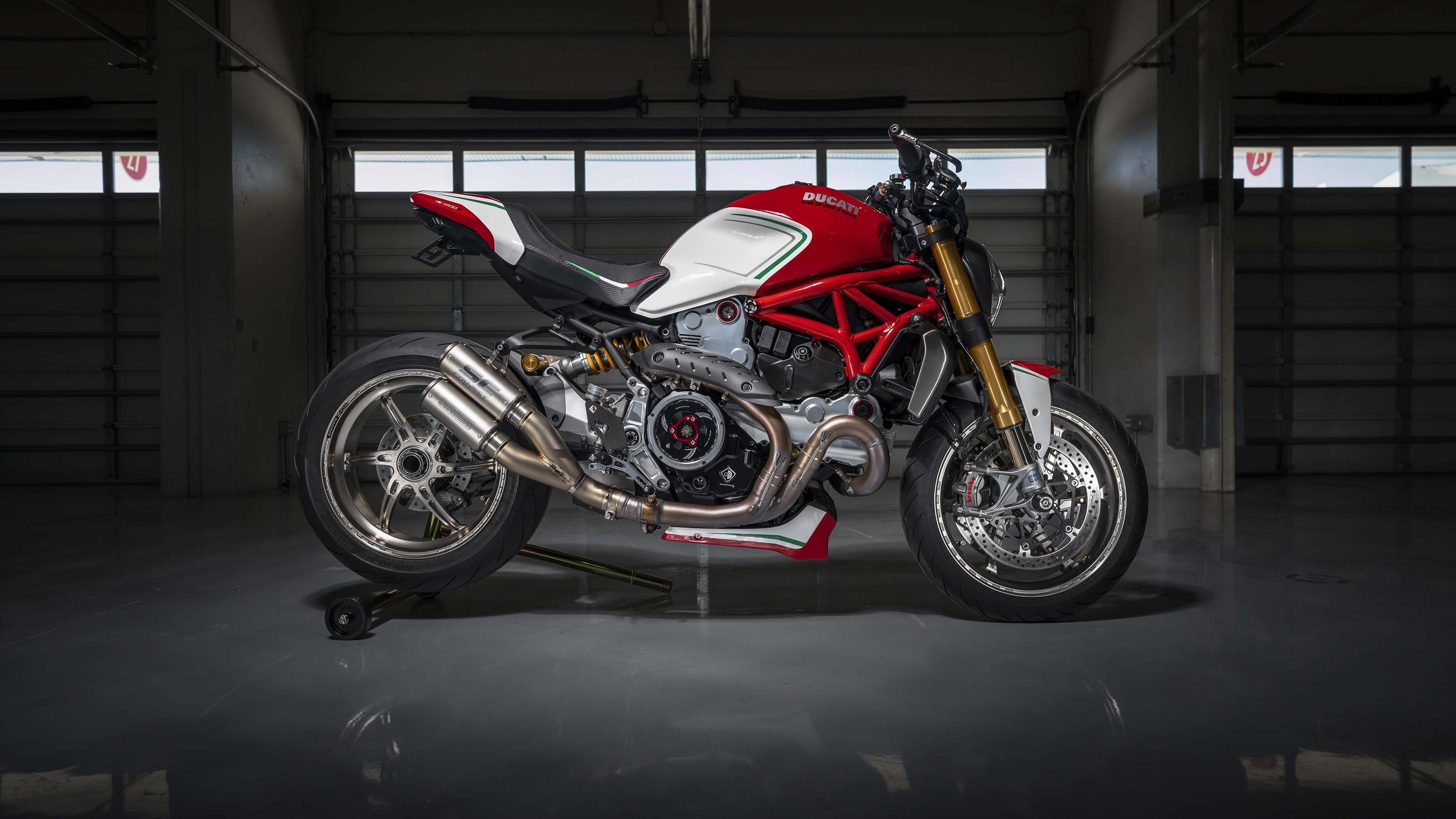 Moto Wallpaper 3d Ducati Monster 1200 Tricolore By Motovation 2019 4k