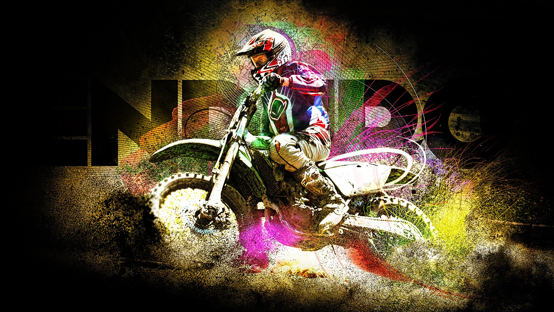 1366x768 Hd Wallpapers 3d Enduro Racing Wallpapers Hd Wallpapers Id 10422