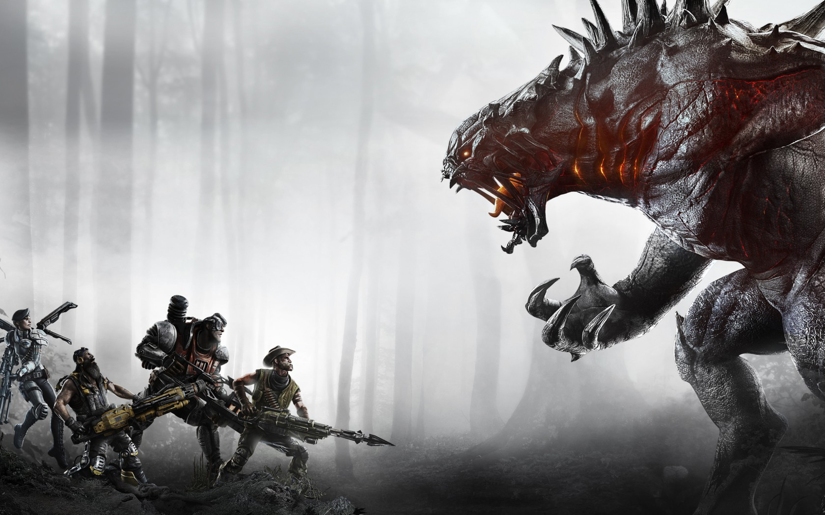 World Of Warcraft Wallpapers Hd Evolve 2015 Game Wallpapers Hd Wallpapers Id 14137