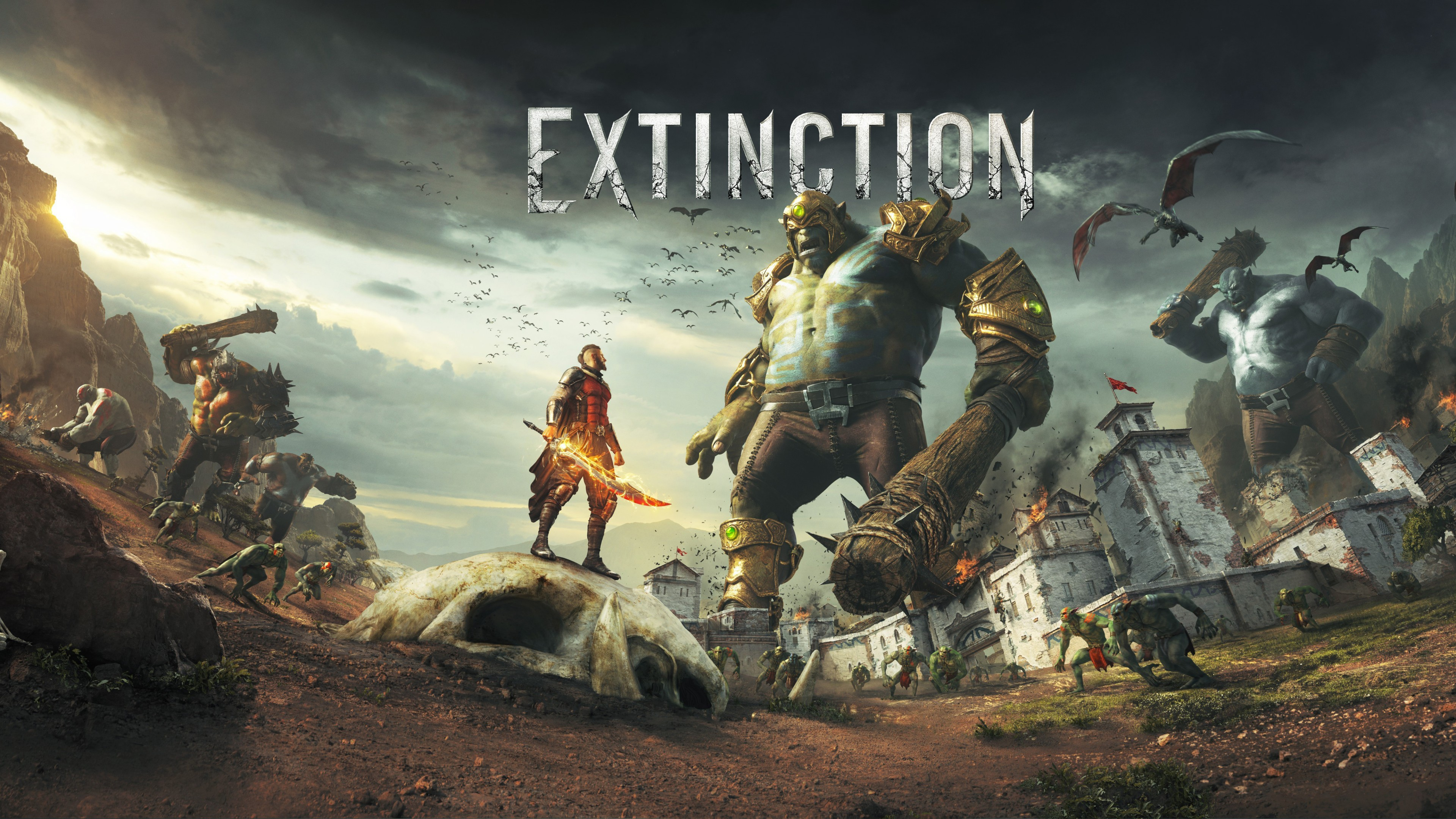 Cute Monster Wallpaper For Android Extinction 2018 Game 5k Wallpapers Hd Wallpapers Id 20459