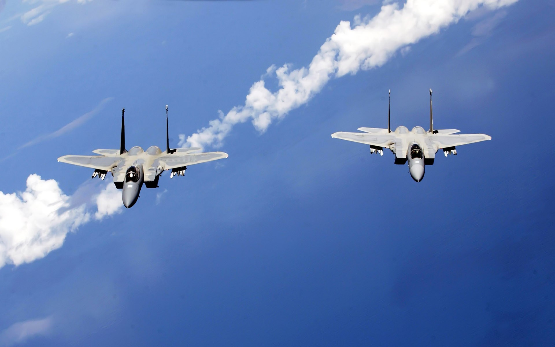 Cute Hawii Wallpapers F 15 Eagles From The Air National Guard Wallpapers Hd