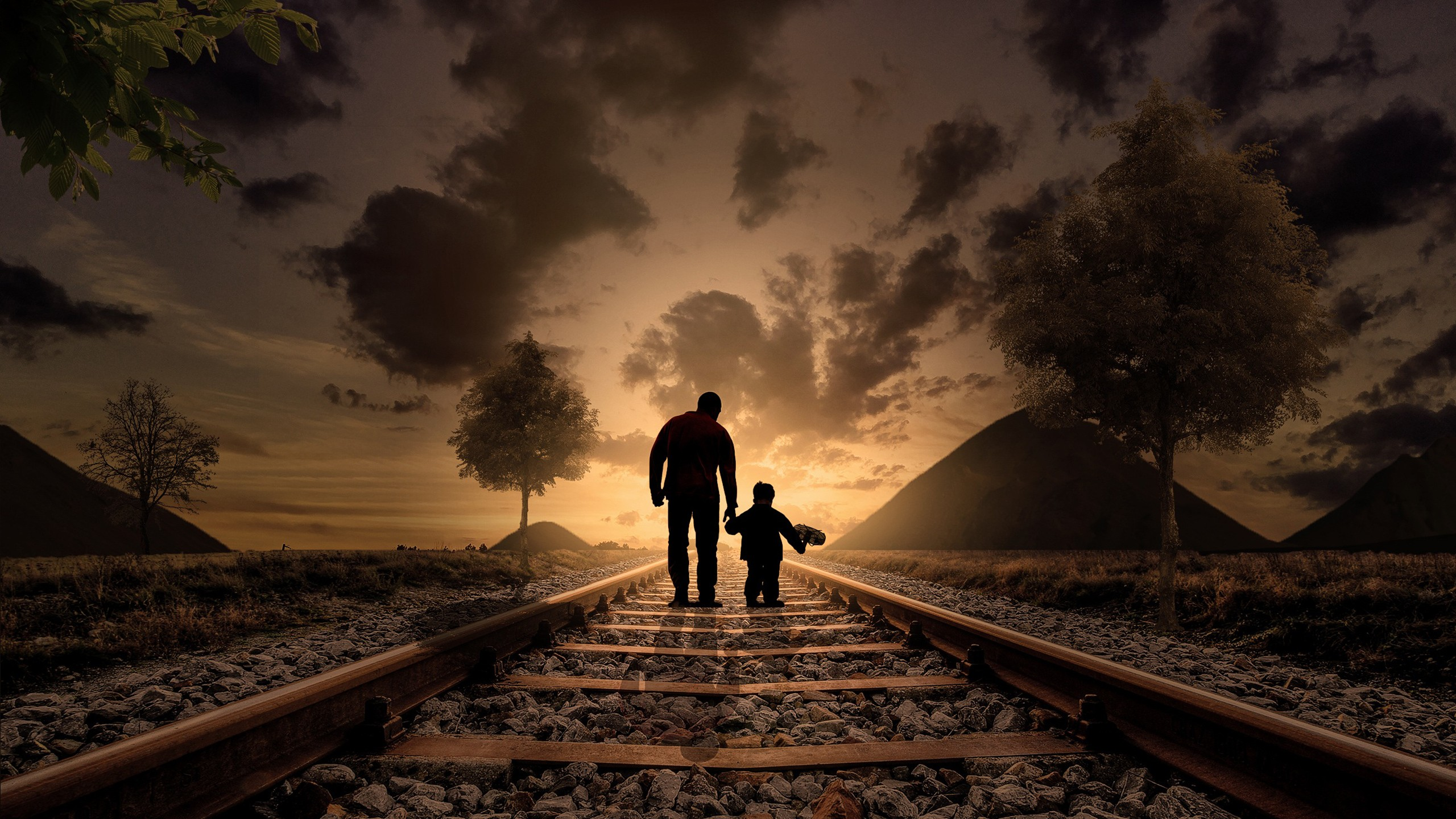2560x1024 Hd Wallpaper Father Son Hd Wallpapers Hd Wallpapers Id 21761