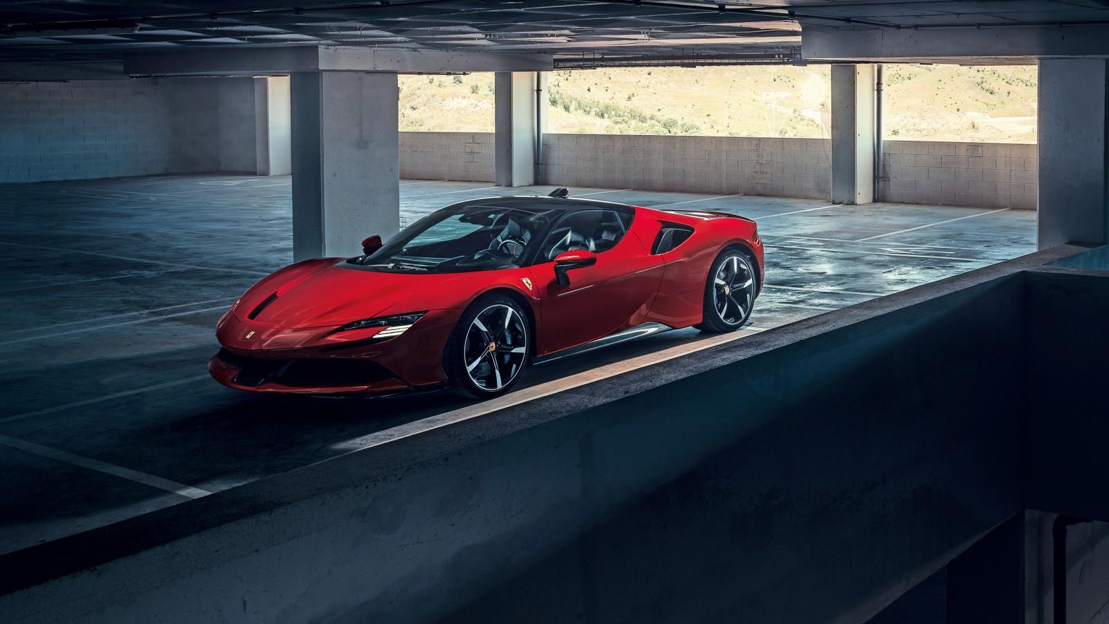 Ferrari Iphone 6 Wallpaper Ferrari Sf90 Stradale 2019 4k Wallpapers Hd Wallpapers