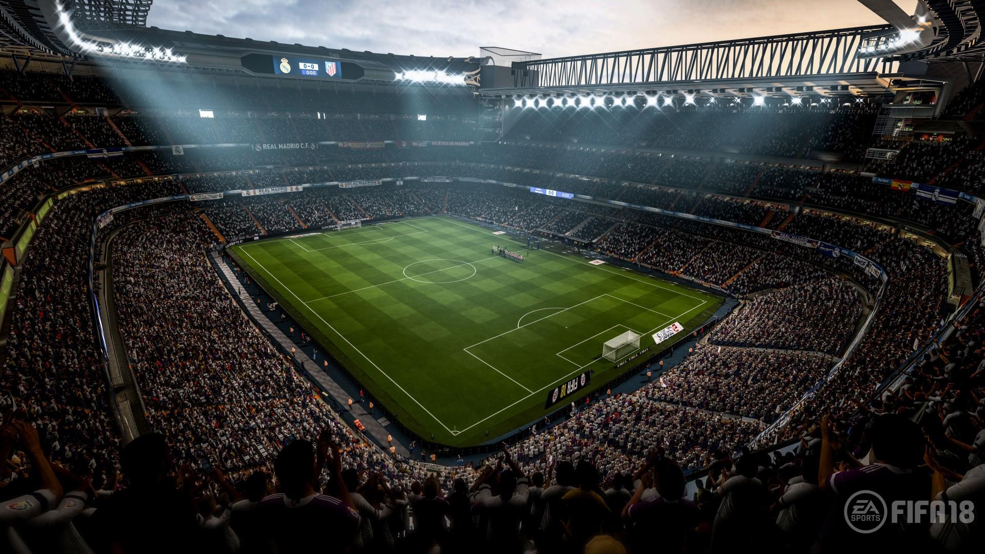 Iphone X Wallpaper Hd Original Fifa 18 Soccer Video Game Stadium 4k 8k Wallpapers Hd