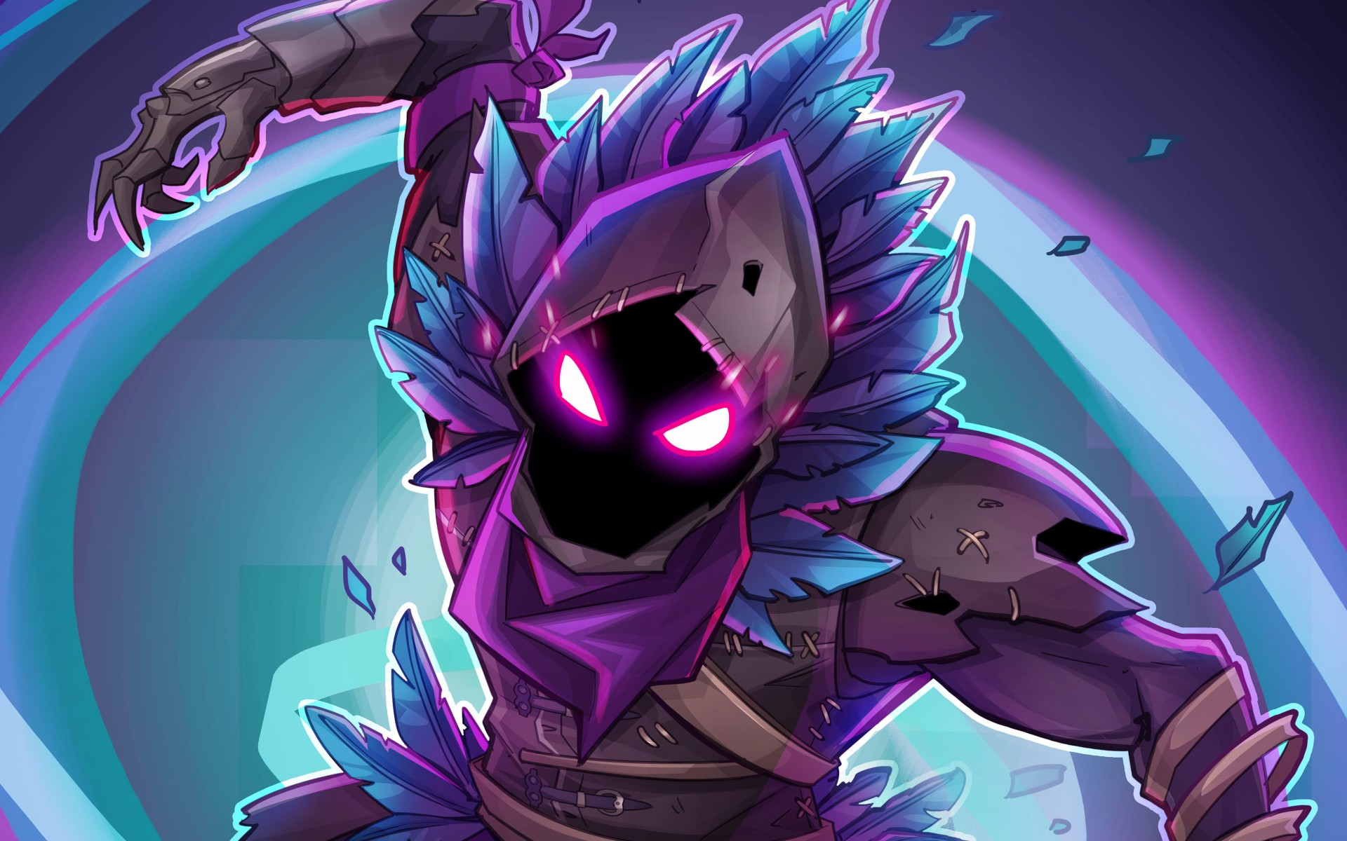 Iphone X Fornite Wallpapers Fortnite Rraven 4k Wallpapers Hd Wallpapers Id 24192