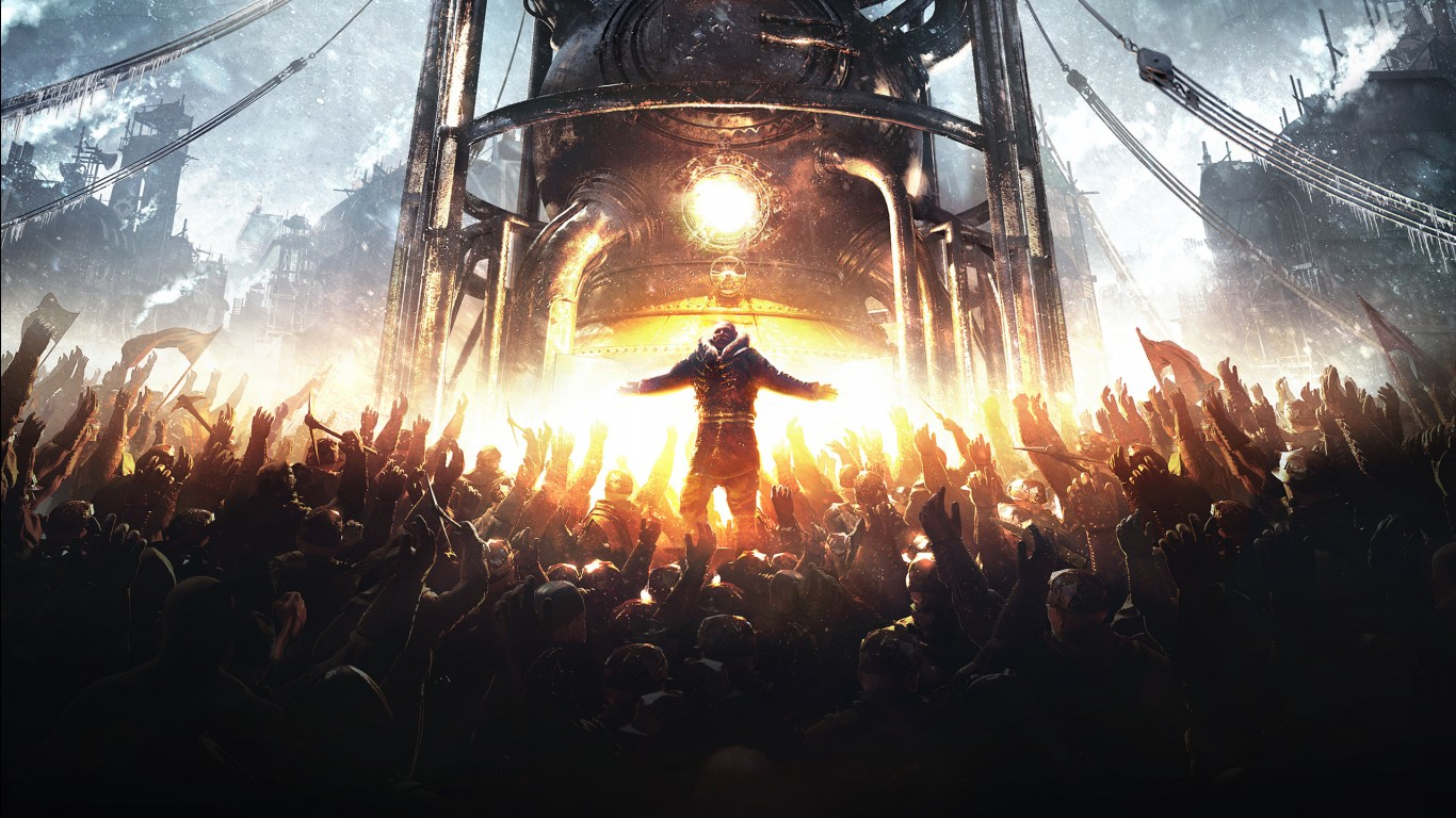 Punk Iphone Wallpaper Frostpunk 2018 Game Wallpapers Hd Wallpapers Id 23754