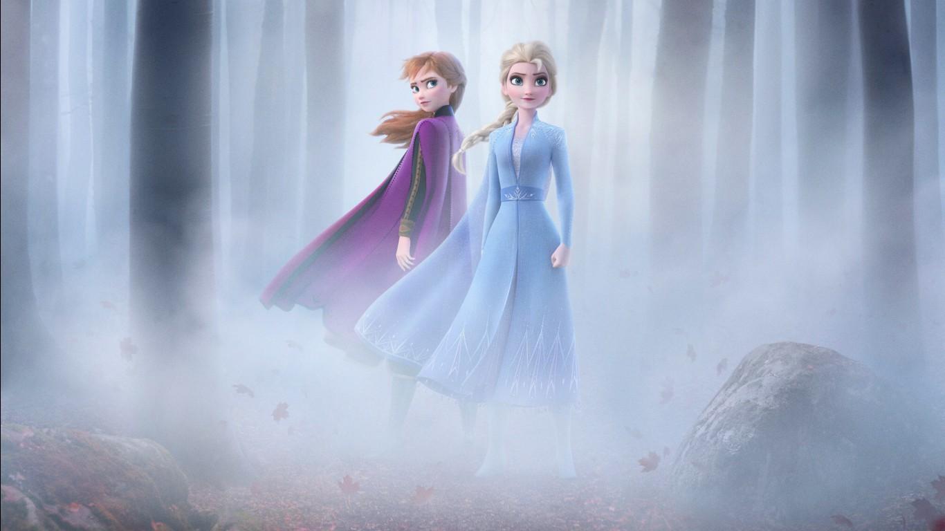 Deadpool Iphone Wallpaper Cute Frozen 2 Elsa Amp Anna 4k Wallpapers Hd Wallpapers Id 28652