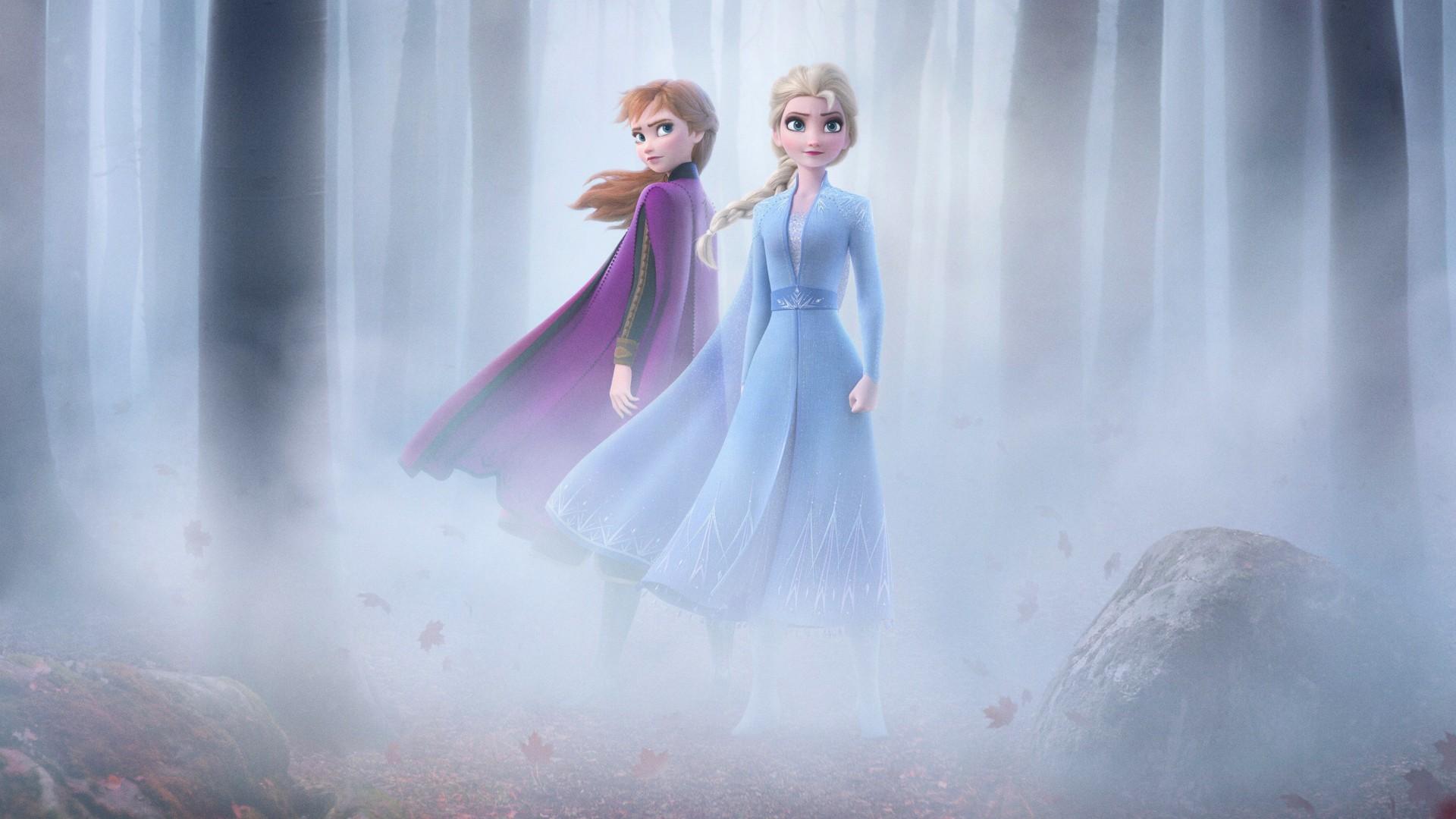Iphone 5s Cute Wallpaper Hd Frozen 2 Elsa Amp Anna 4k Wallpapers Hd Wallpapers Id 28652