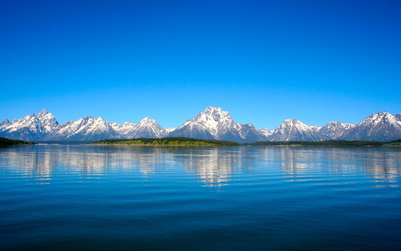 Apple Iphone X Wallpaper Download Grand Teton Mountain Lake Reflections Wallpapers Hd