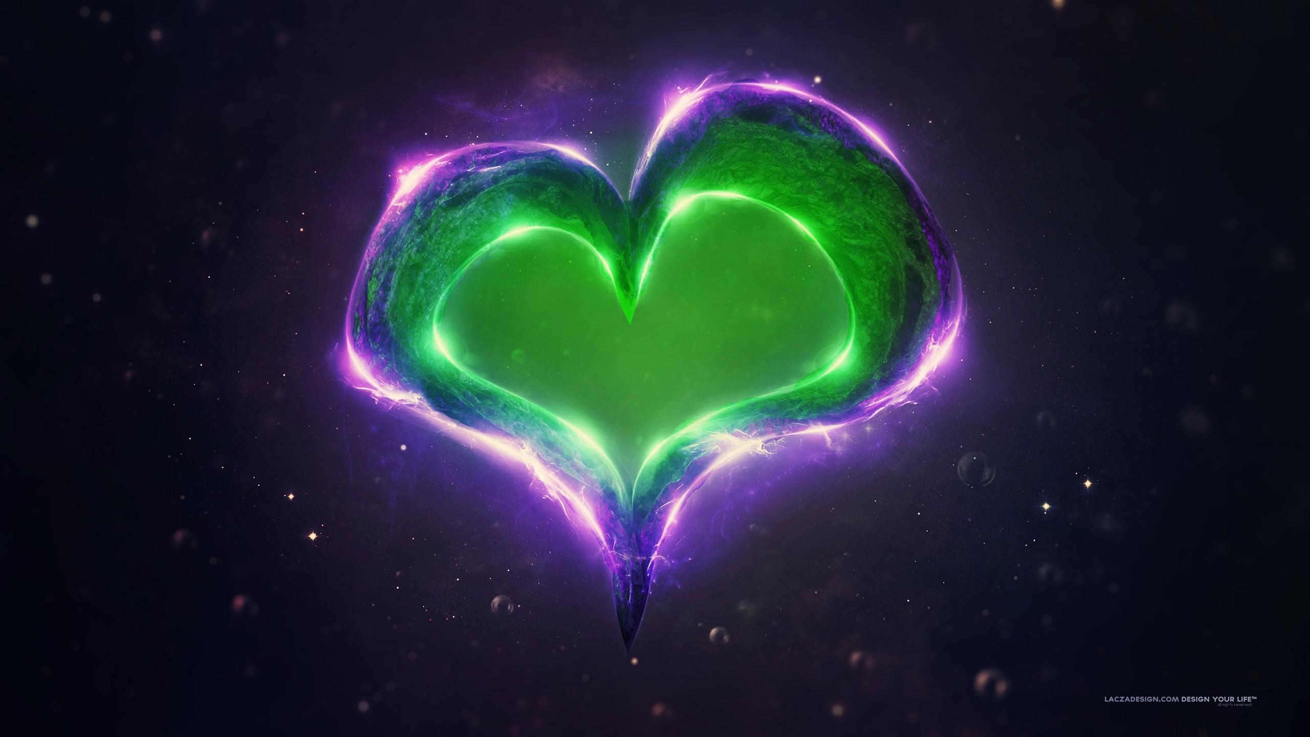 Cute Pokemon Iphone Wallpapers Green Purple Love Heart Wallpapers Hd Wallpapers Id 18489