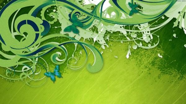 Green Vector Hdtv Wallpapers Hd Id #4856