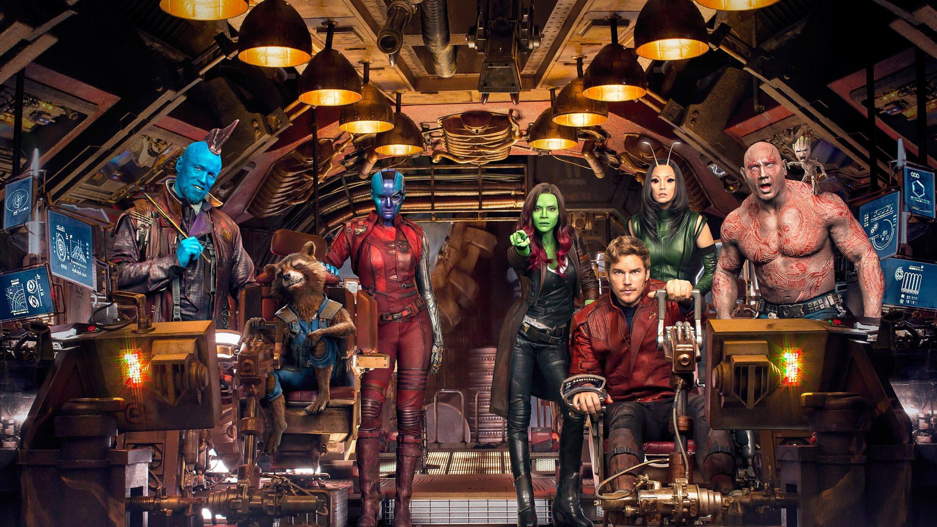 3d Wallpaper For Apple Ipad Guardians Of The Galaxy Vol 2 Cast Wallpapers Hd