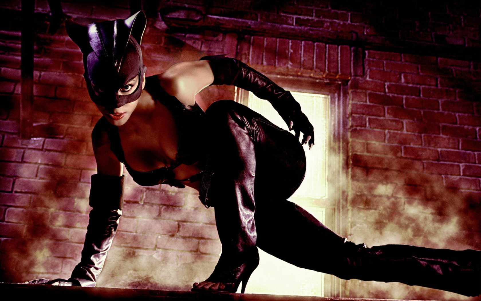 Halle Berry Cute Wallpaper Halle Berry Catwoman Wallpapers Hd Wallpapers Id 15935