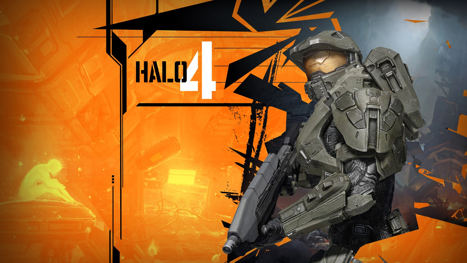 Dual Monitor Fall Wallpaper Halo 4 Concept Art Wallpapers Hd Wallpapers Id 11506