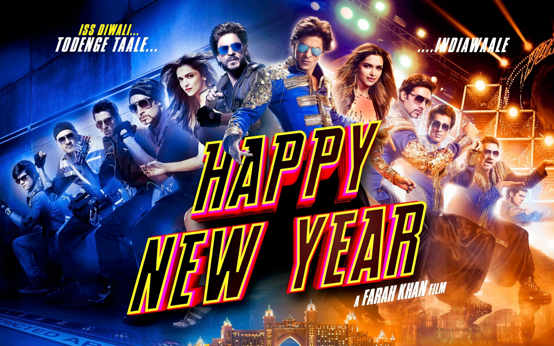 High Definition 3d Hd Wallpaper Happy New Year Movie Wallpapers Hd Wallpapers Id 13913