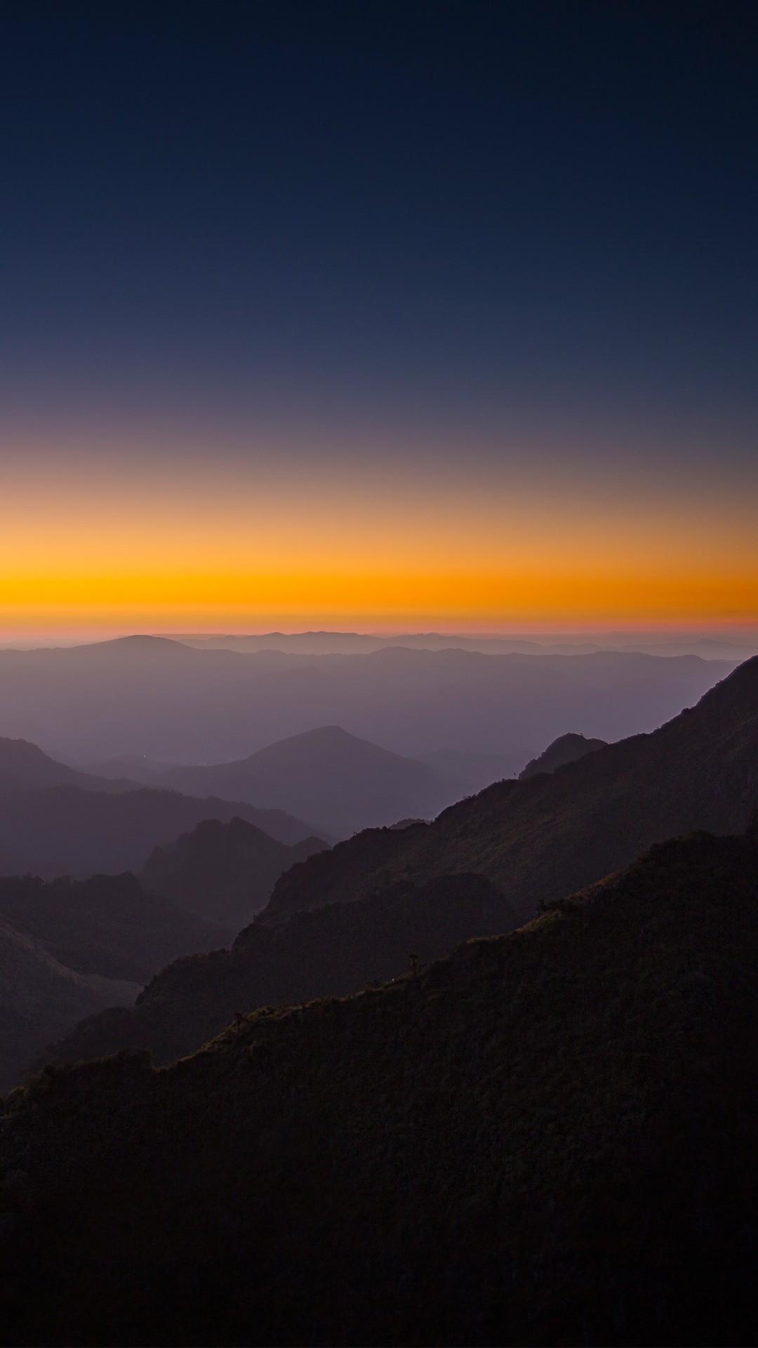 Apple Iphone Wallpaper Hd Download Horizon Sunset Mountains 4k Wallpapers Hd Wallpapers