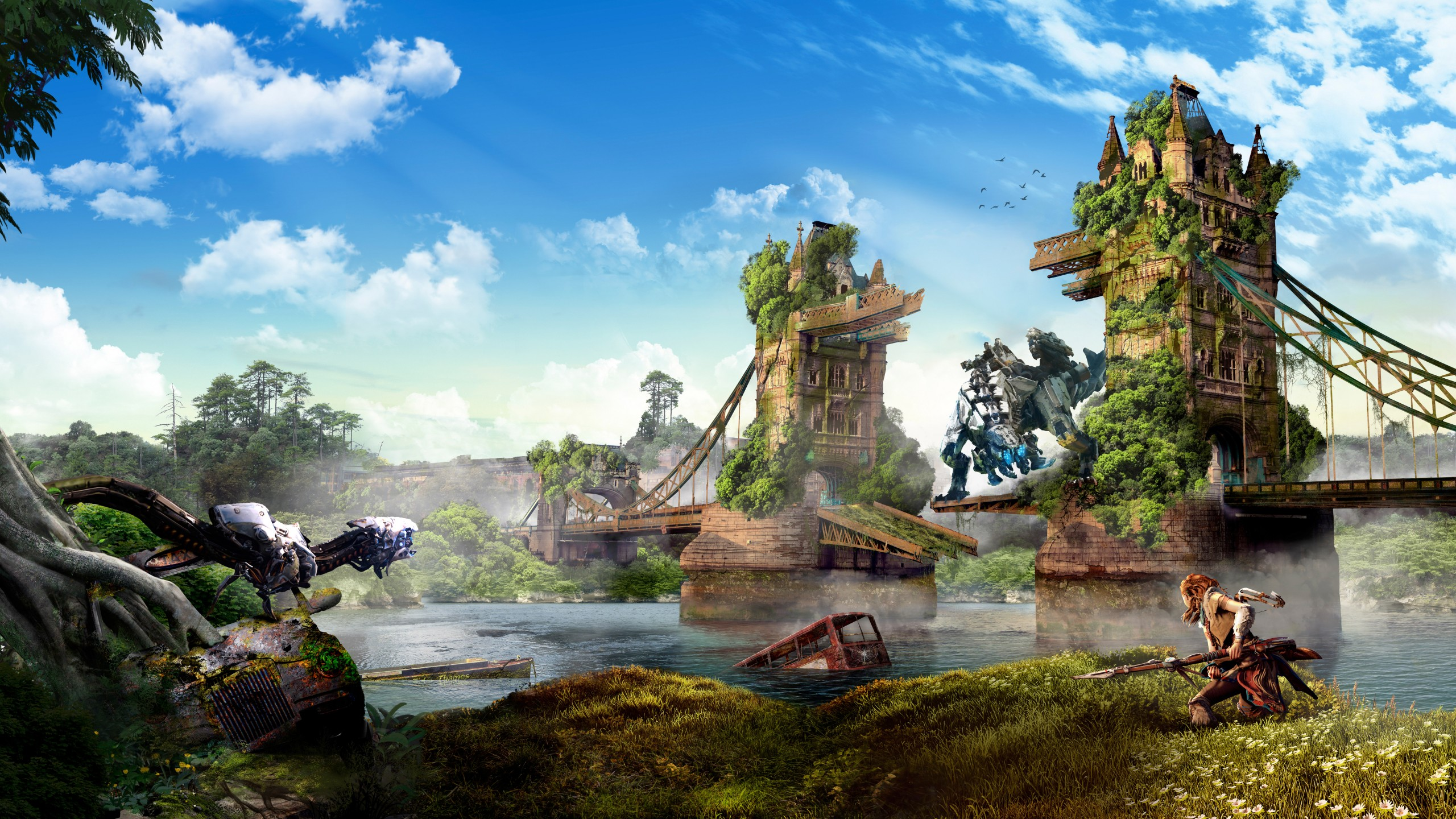 Animated Nature Wallpaper For Windows 7 Horizon Zero Dawn London 4k 8k Wallpapers Hd Wallpapers