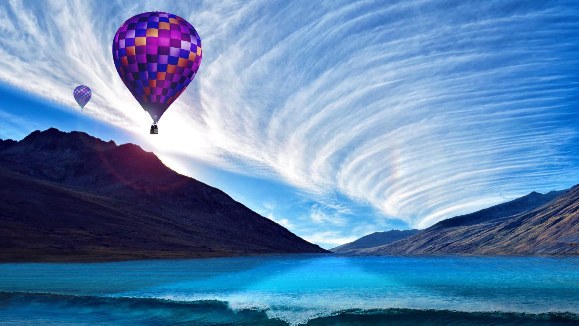 Windows 7 3d Wallpaper Hd Hot Air Ballons 4k Wallpapers Hd Wallpapers Id 26710