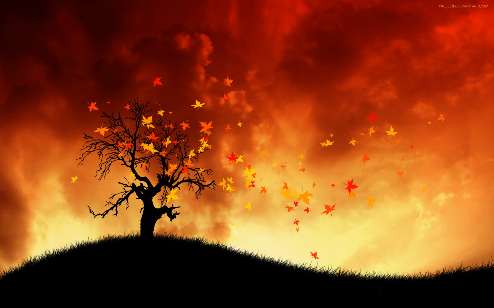 Download Fall Wallpaper For Laptops Hot Wind Wallpapers Hd Wallpapers Id 9312