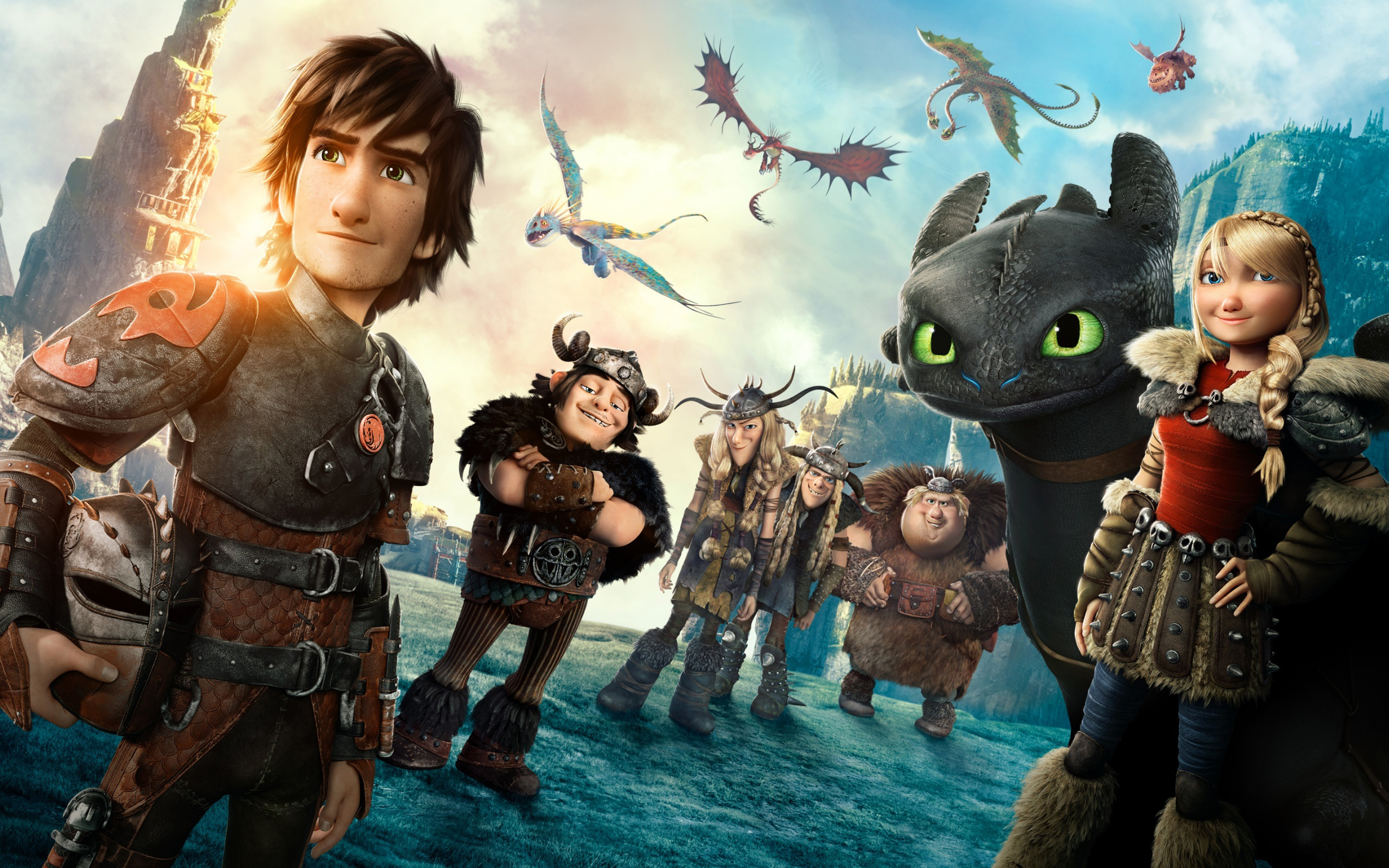 How to Train Your Dragon 2 Movie Wallpapers  HD