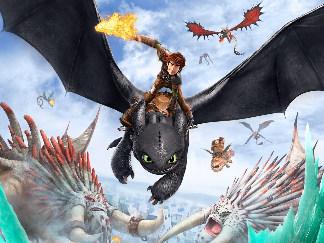 Cute Wallpapers Download For Desktop How To Train Your Dragon 2 Poster Wallpapers Hd
