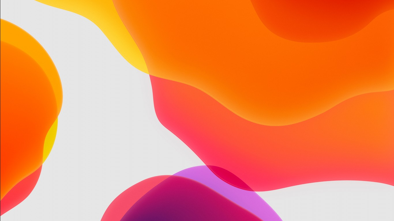 Ios 8 Wallpaper Iphone 6 Ios 13 Ipados Orange Wallpapers Hd Wallpapers Id 28574