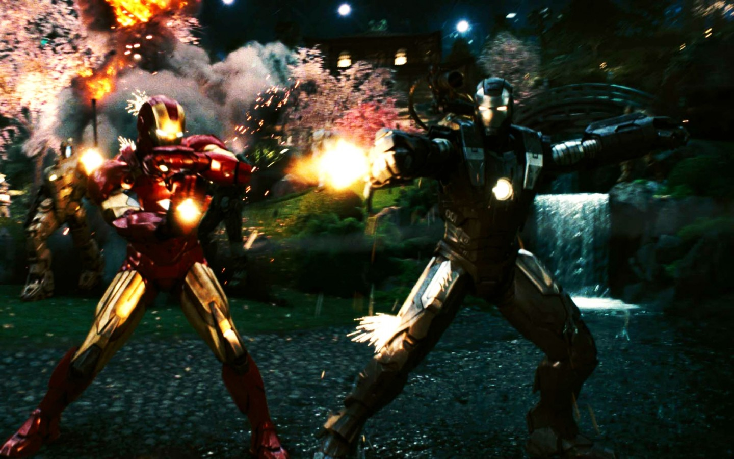 Wallpapers Of Cute Dolls For Desktop Iron Man 2 Last Scene Wallpapers Hd Wallpapers Id 8637