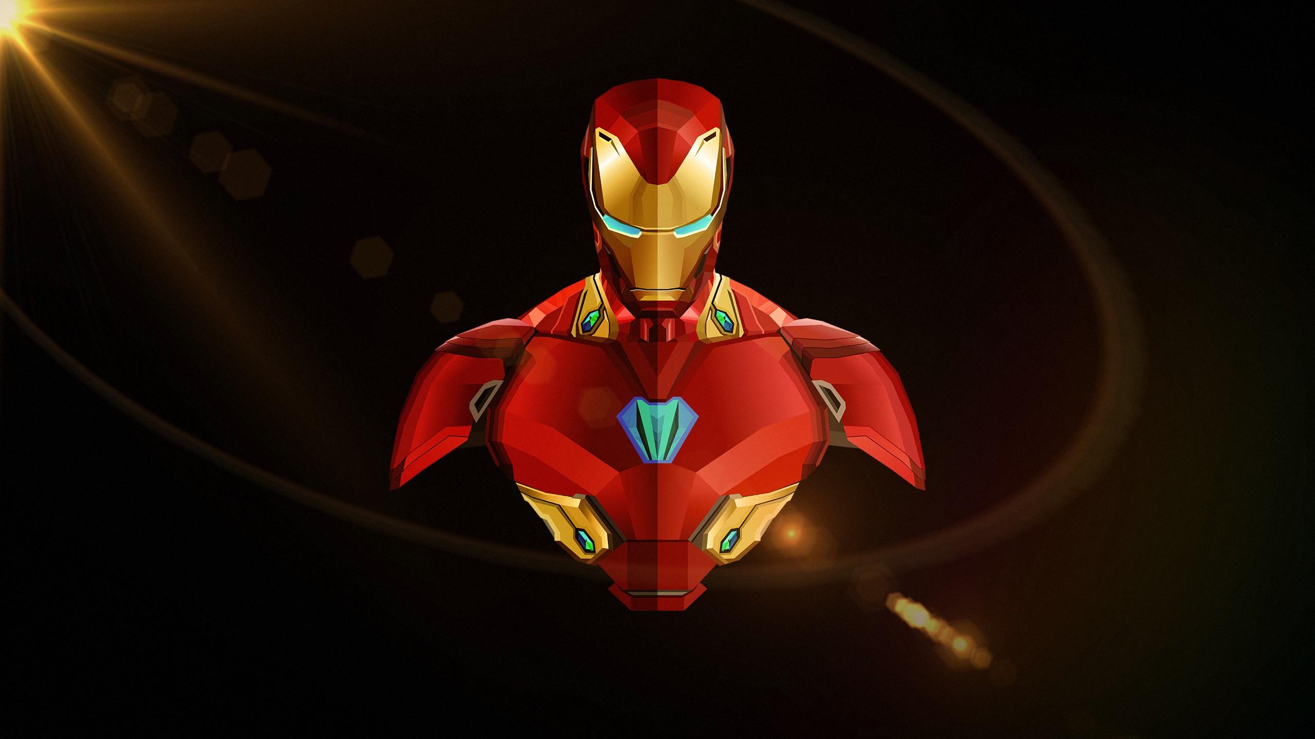 Animated Skull Wallpaper Iron Man Avengers Infinity War Minimal Wallpapers Hd