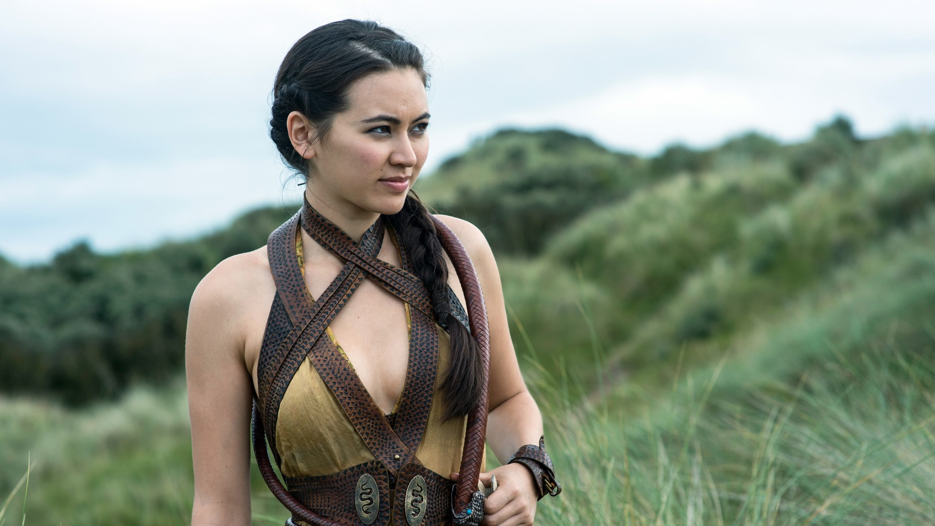 Shattered Iphone X Wallpaper Jessica Henwick Nymeria Sand Game Of Thrones Wallpapers