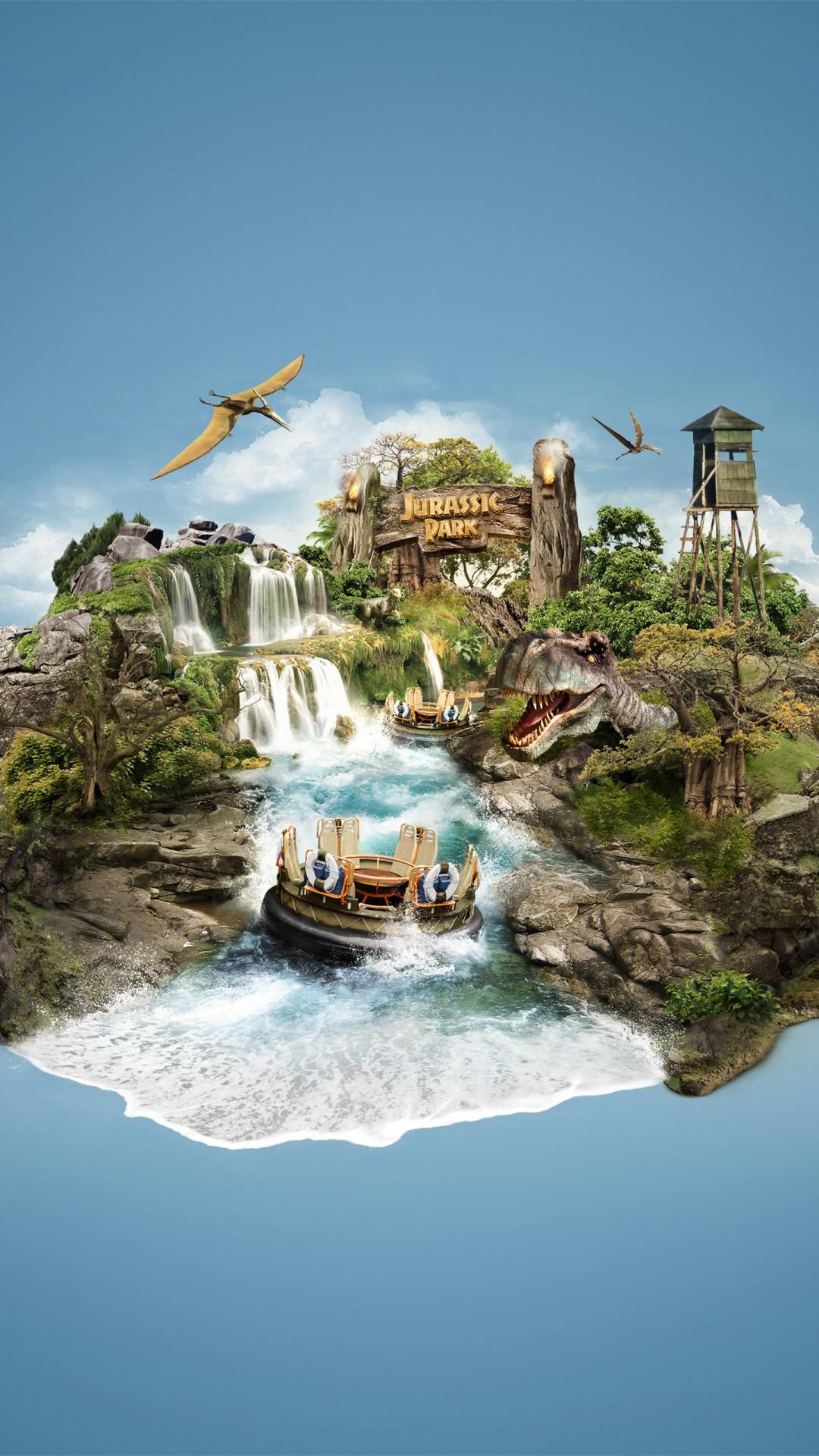 Wallpaper Hd For Ipad Pro Jurassic Park Island Wallpapers Hd Wallpapers Id 23946