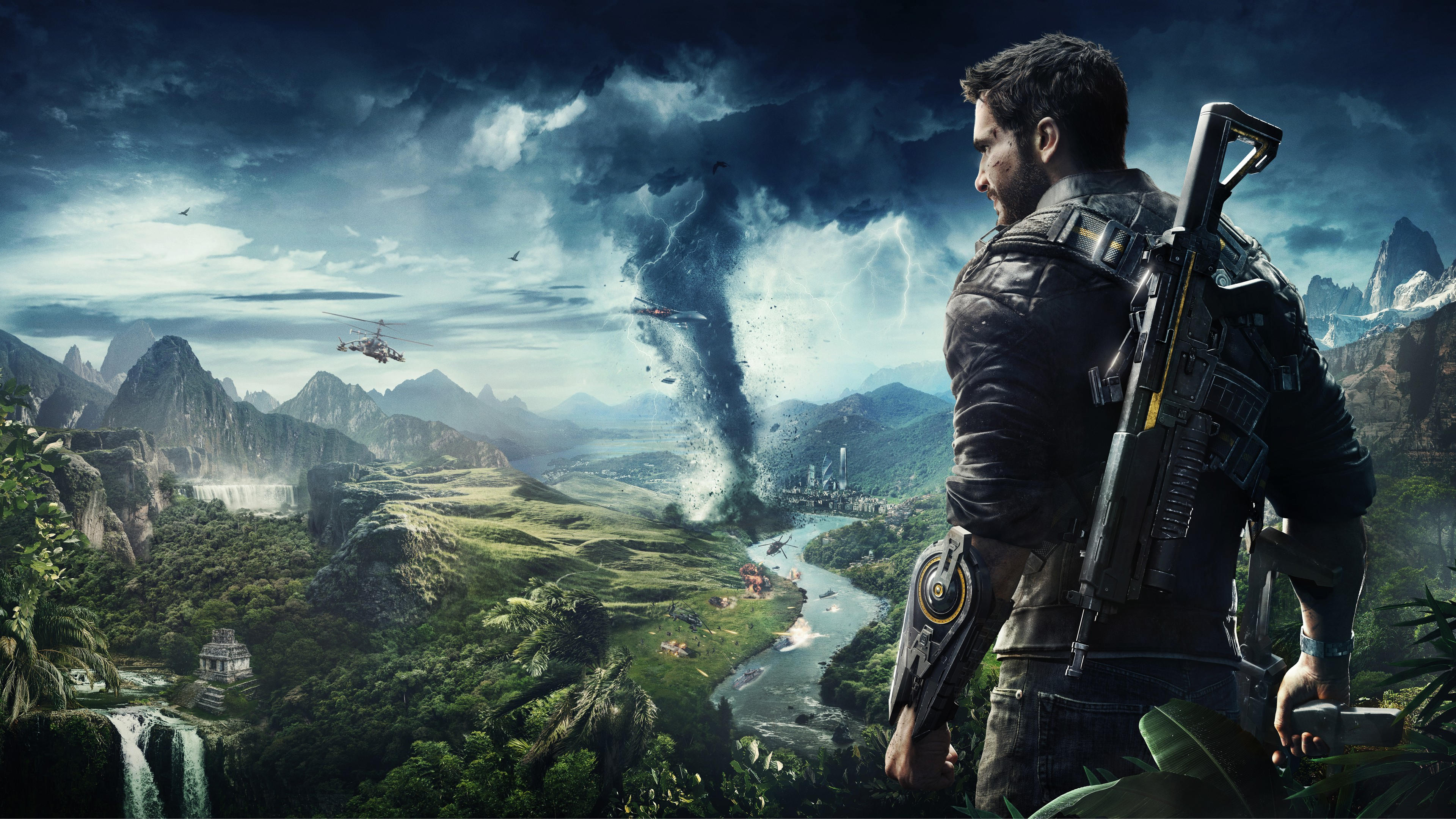 Just Cause 4 E3 2018 4K 8K Wallpapers HD Wallpapers ID