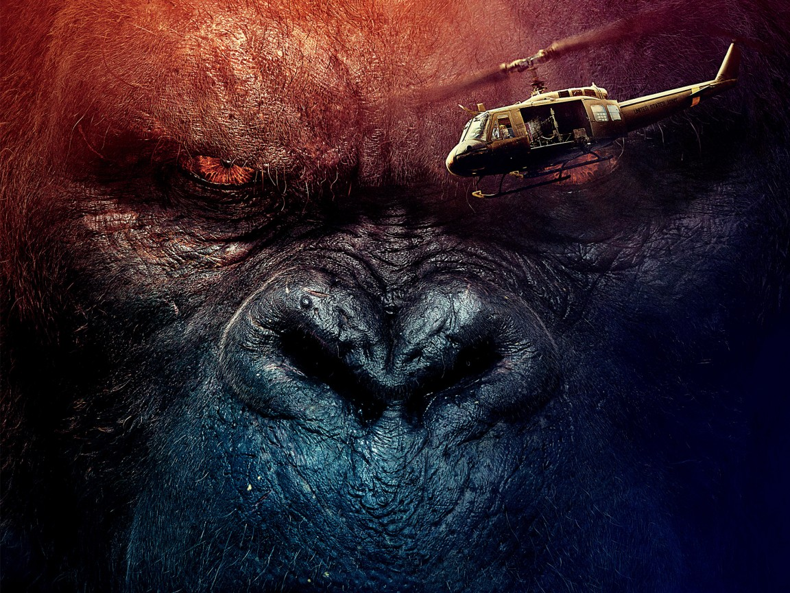 Iphone X Wallpaper Official Download Kong Skull Island 2017 Wallpapers Hd Wallpapers Id 19109