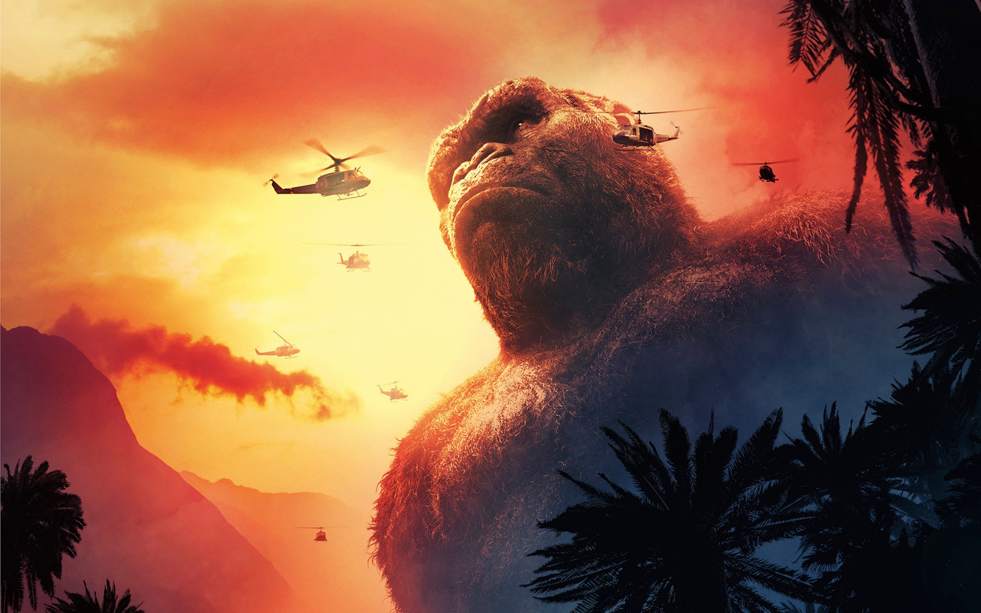 Full Hd Wallpapers For Iphone 4 Kong Skull Island 4k 2017 Wallpapers Hd Wallpapers Id
