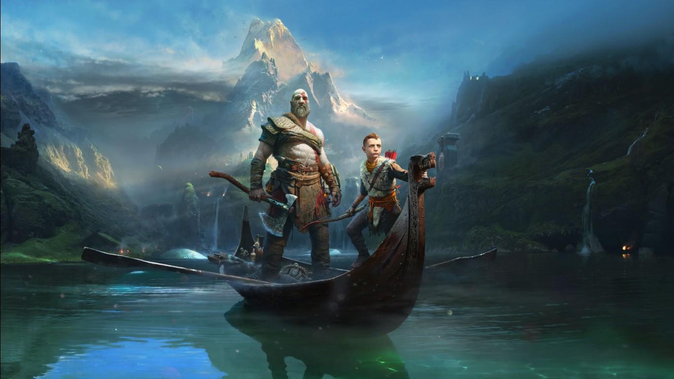 Kratos Atreus God of War 2018 Wallpapers  HD Wallpapers