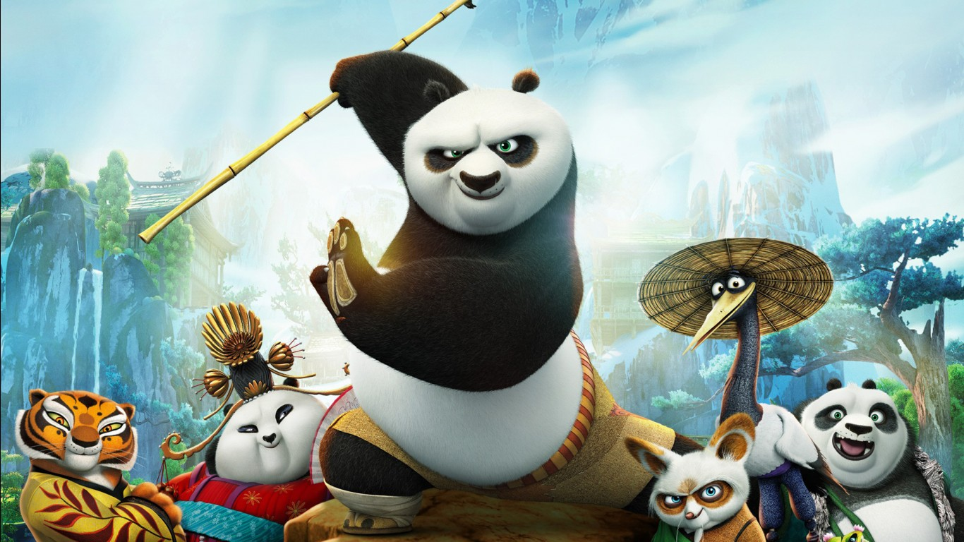 Kung Fu Panda Wallpaper Cute Kung Fu Panda 3 Movie 2016 Wallpapers Hd Wallpapers Id