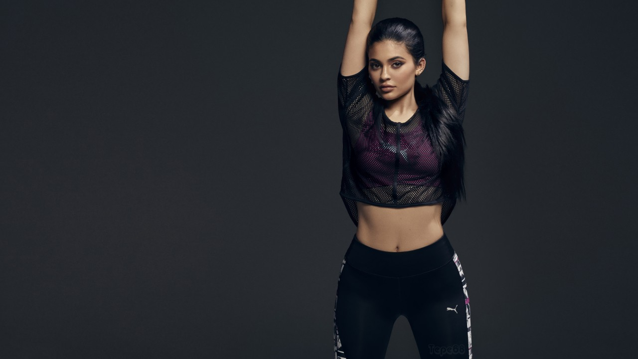 Fitness Wallpaper Iphone X Kylie Jenner Puma 2017 4k Wallpapers Hd Wallpapers Id