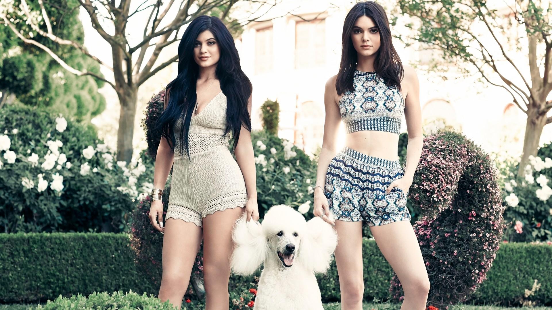 Dua Lipa Iphone X Wallpaper Kylie Kendall Jenner Sisters 5k Wallpapers Hd Wallpapers