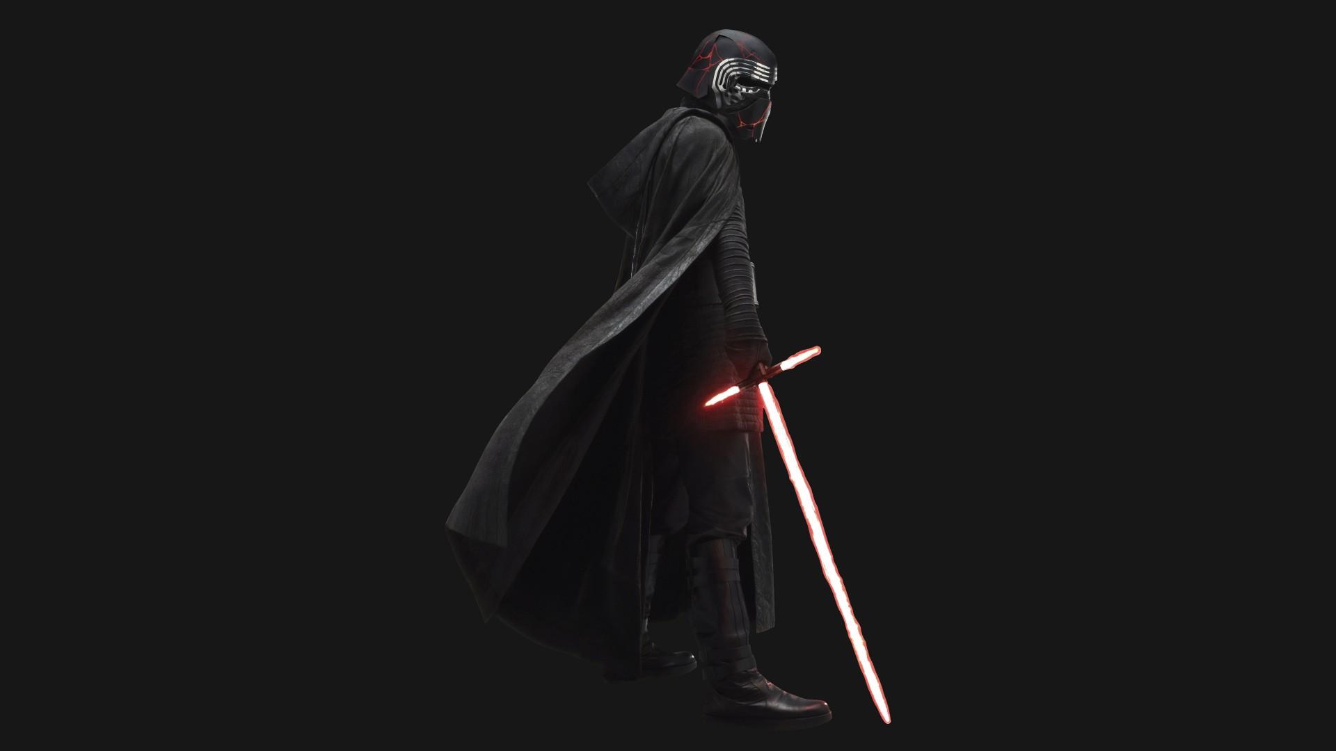 Last Jedi Wallpaper Iphone X Kylo Ren In Star Wars The Rise Of Skywalker 2019 4k 8k