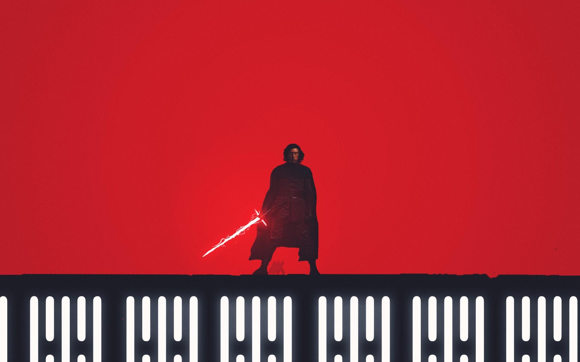 Star Wars The Last Jedi Wallpaper Iphone X Kylo Ren Star Wars The Last Jedi Artwork 4k Wallpapers