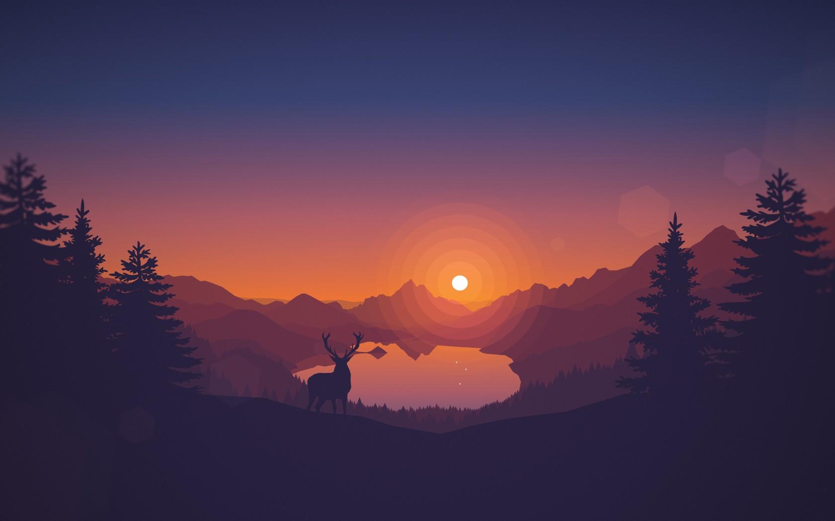 Free Fall Desktop Wallpaper Downloads Lakeview Sunset 4k Wallpapers Hd Wallpapers Id 23632