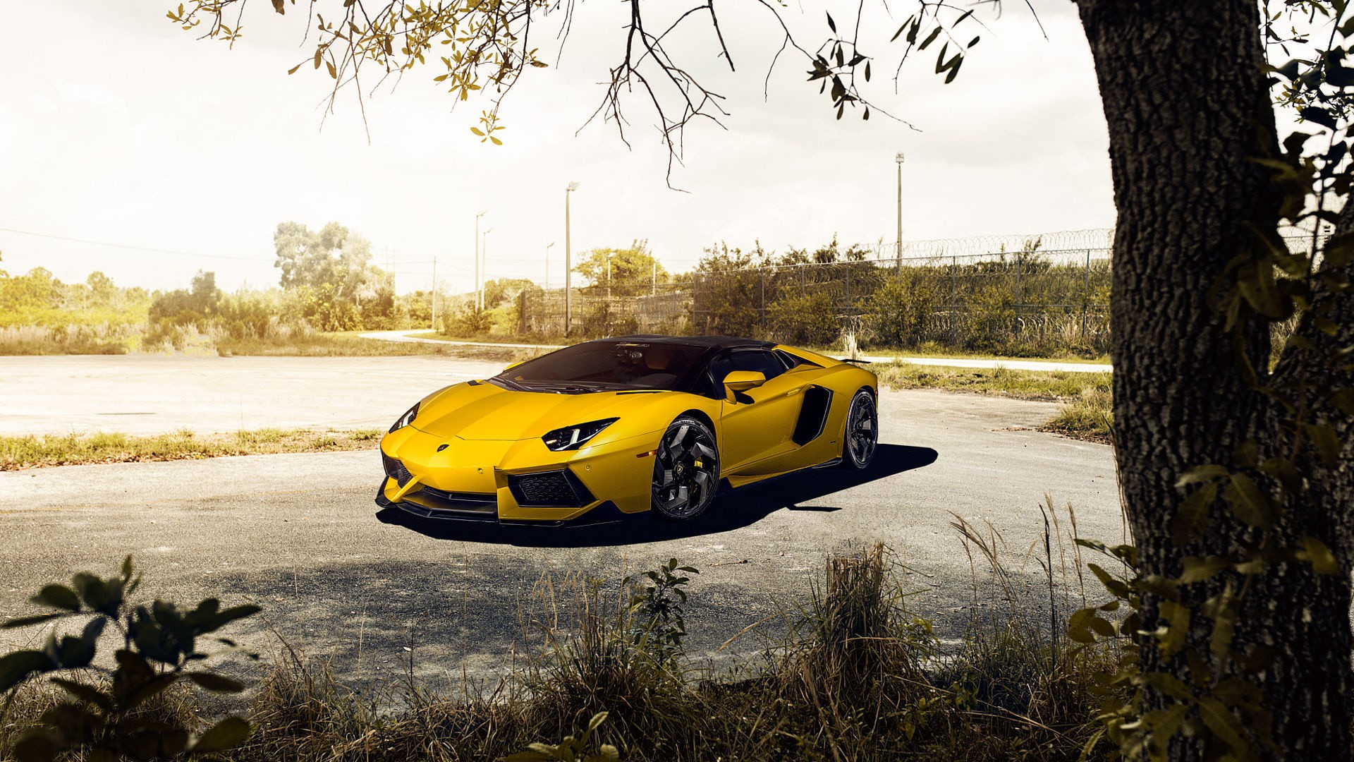 3d Hd Sports Wallpapers Lamborghini Aventador V Roadster Vorsteiner Wallpapers