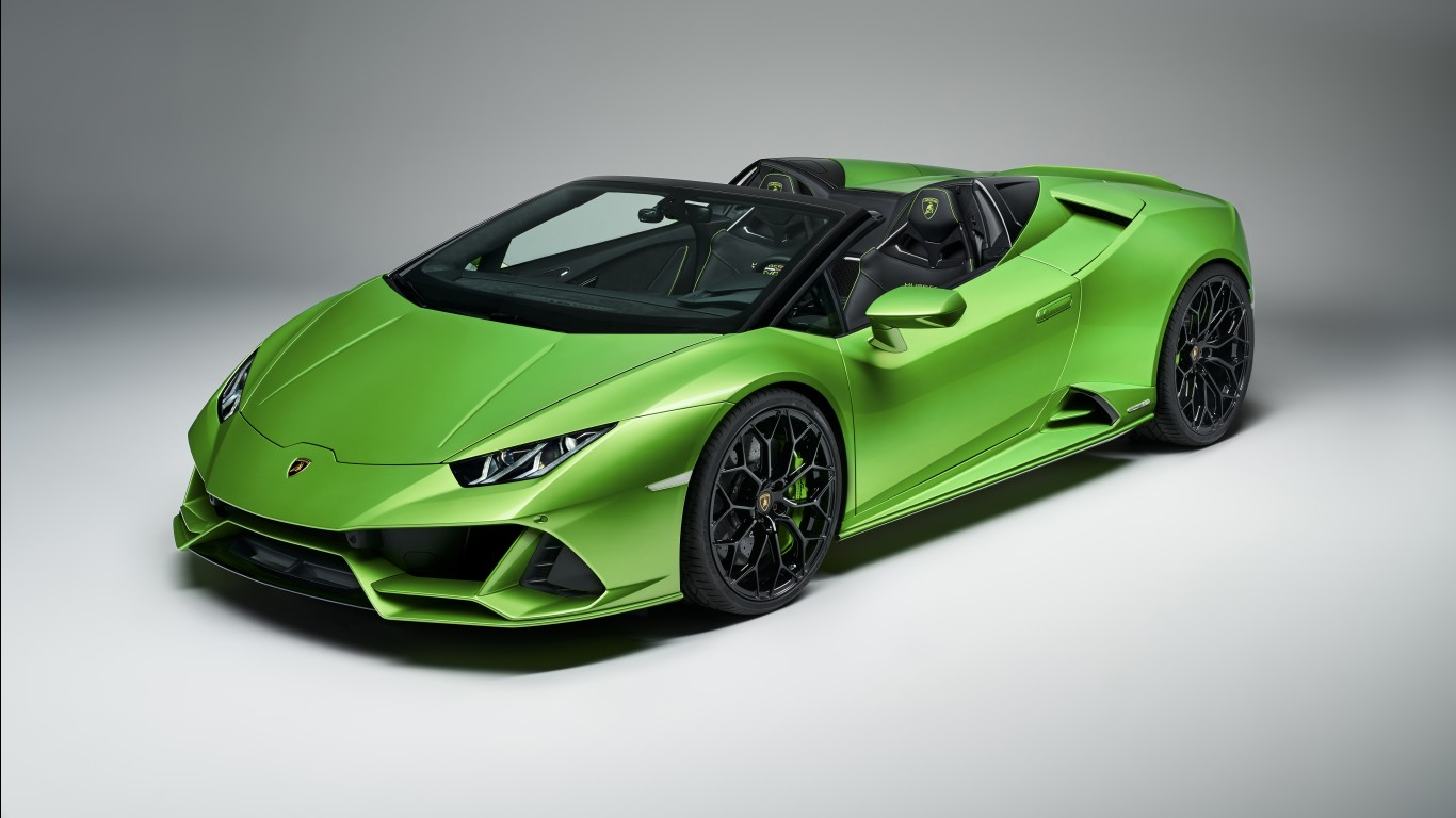 4k Wallpaper 3d 3840x2400 Lamborghini Huracan Evo Spyder 2019 5k Wallpapers Hd