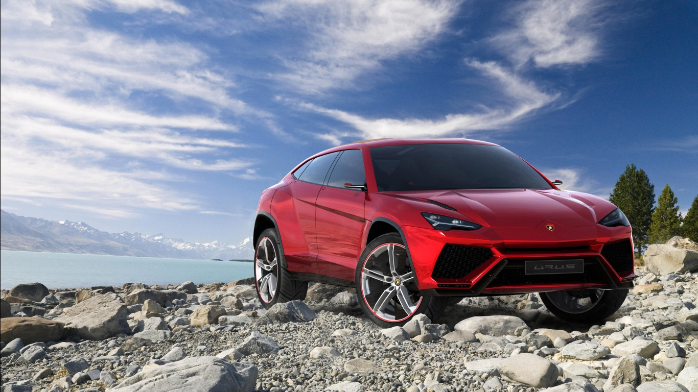 Car Burn Out Wallpaper Lamborghini Urus Suv Wallpapers Hd Wallpapers Id 14810