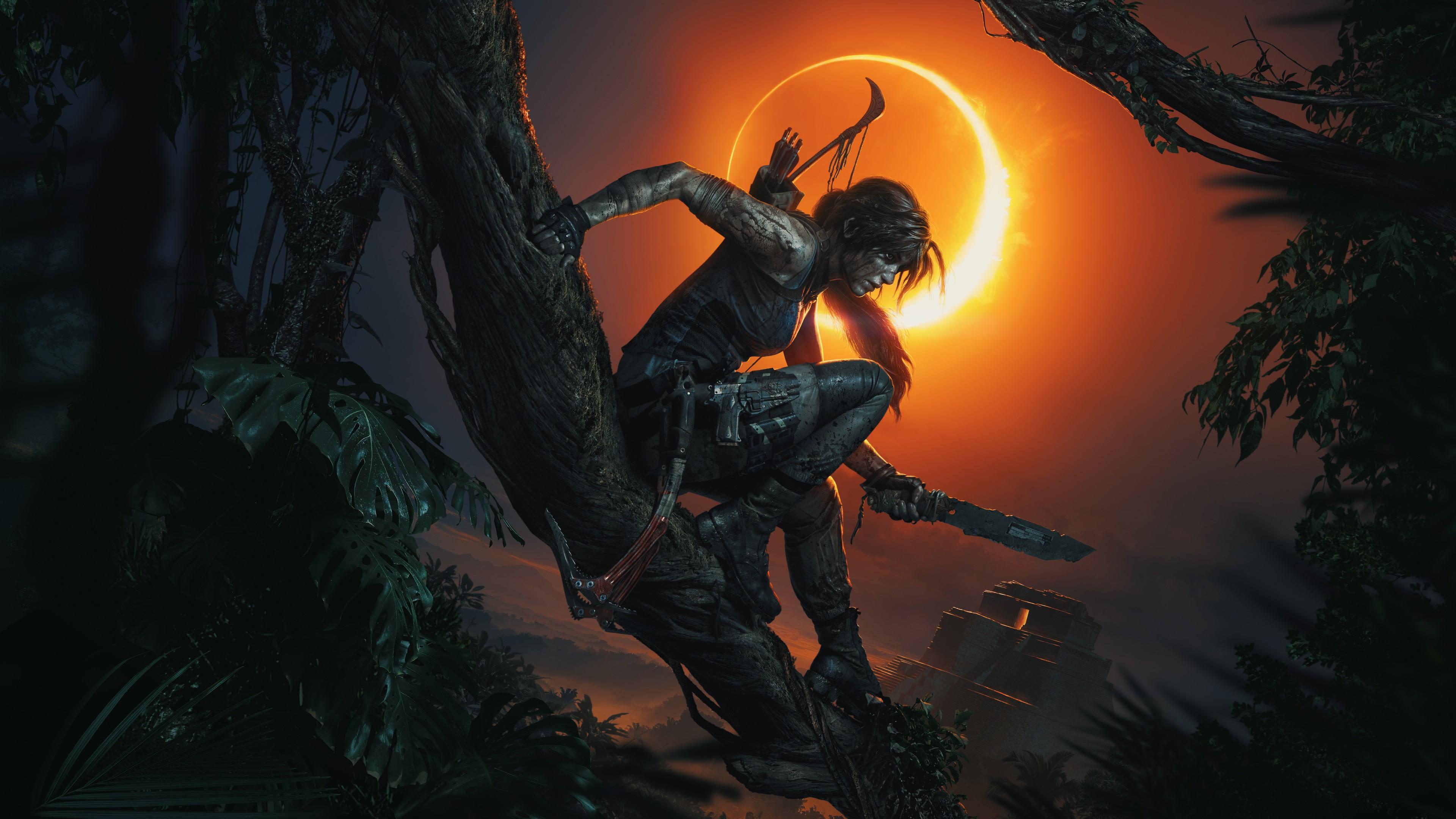 Tomb Raider Iphone X Wallpaper Lara Croft Shadow Of The Tomb Raider Wallpapers Hd