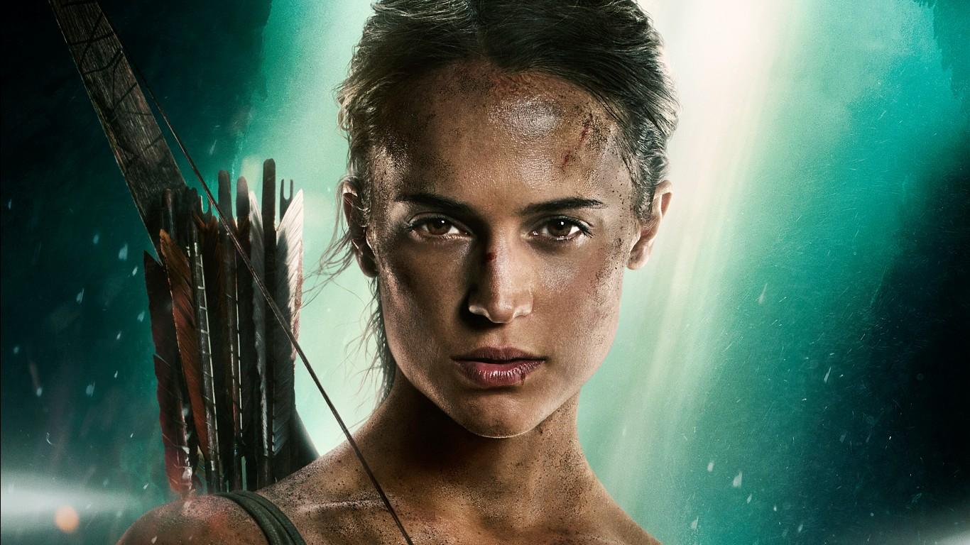 Tomb Raider Iphone 5 Wallpaper Lara Croft Tomb Raider Alicia Vikander 5k Wallpapers Hd