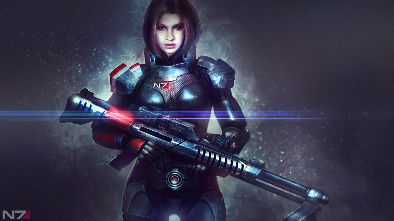 Star Wars Wallpaper Iphone X Mass Effect Alexandra Shepard 4k Wallpapers Hd