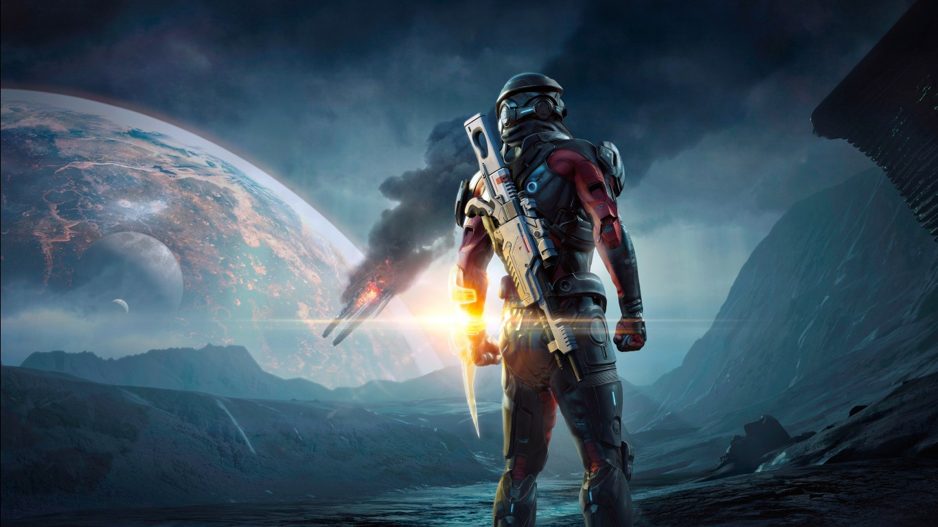 3d Effect Wallpaper For Android Mass Effect Andromeda 4k Wallpapers Hd Wallpapers Id